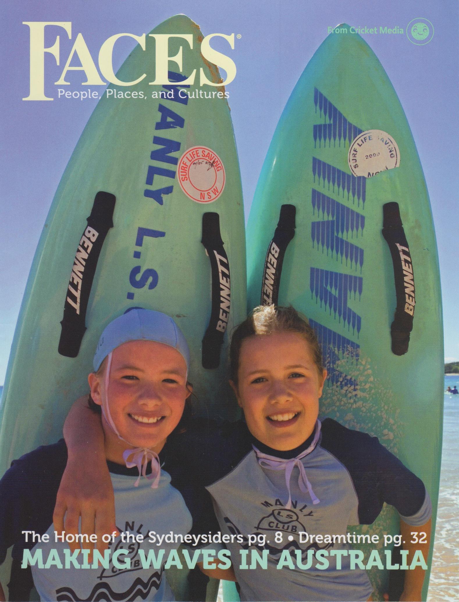 Sydney, Australia Issue, FACES Magazine, Cobblestone Publishing