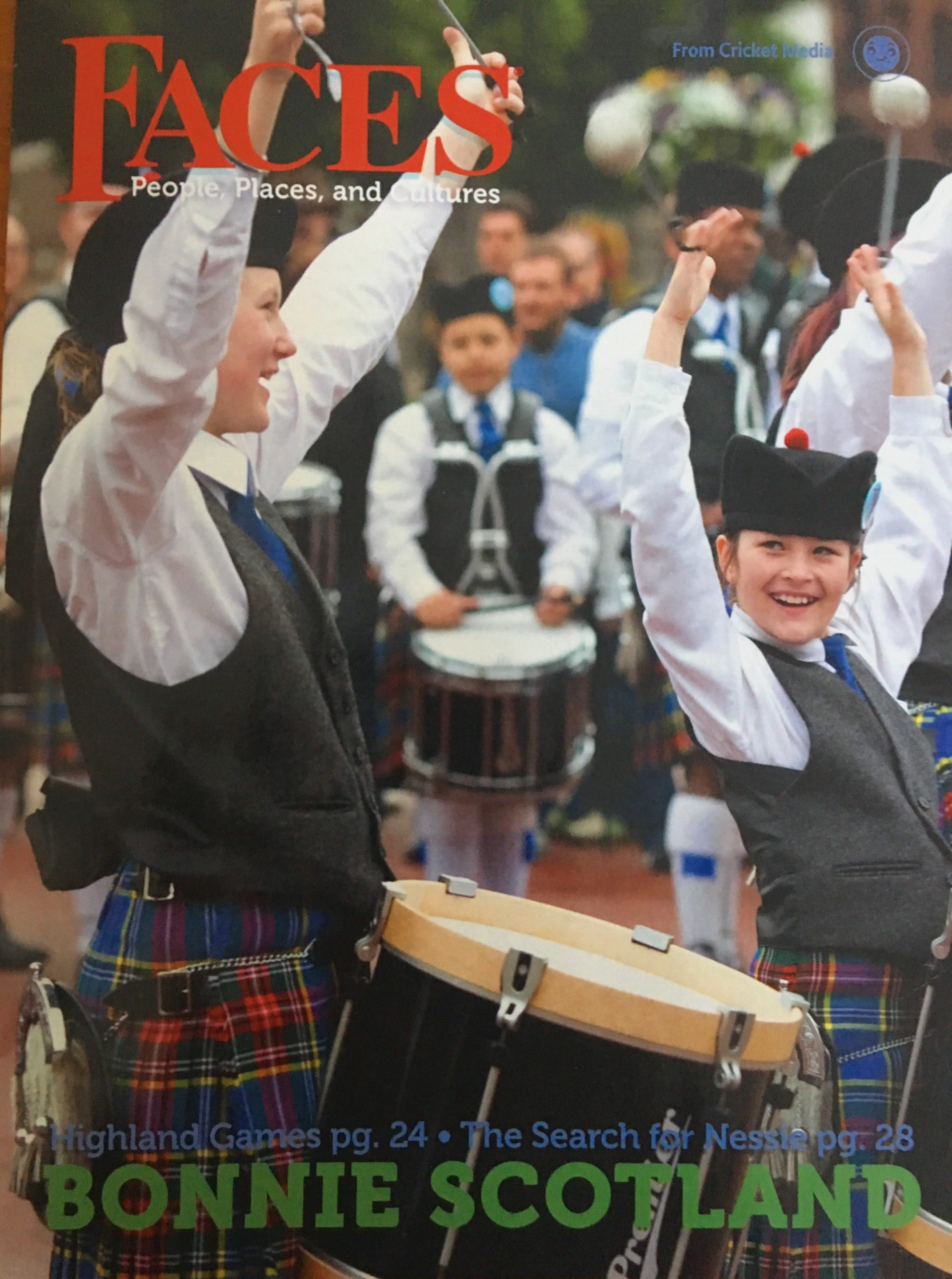 FACES Magazine, Bonnie Scotland, Feb. 2018