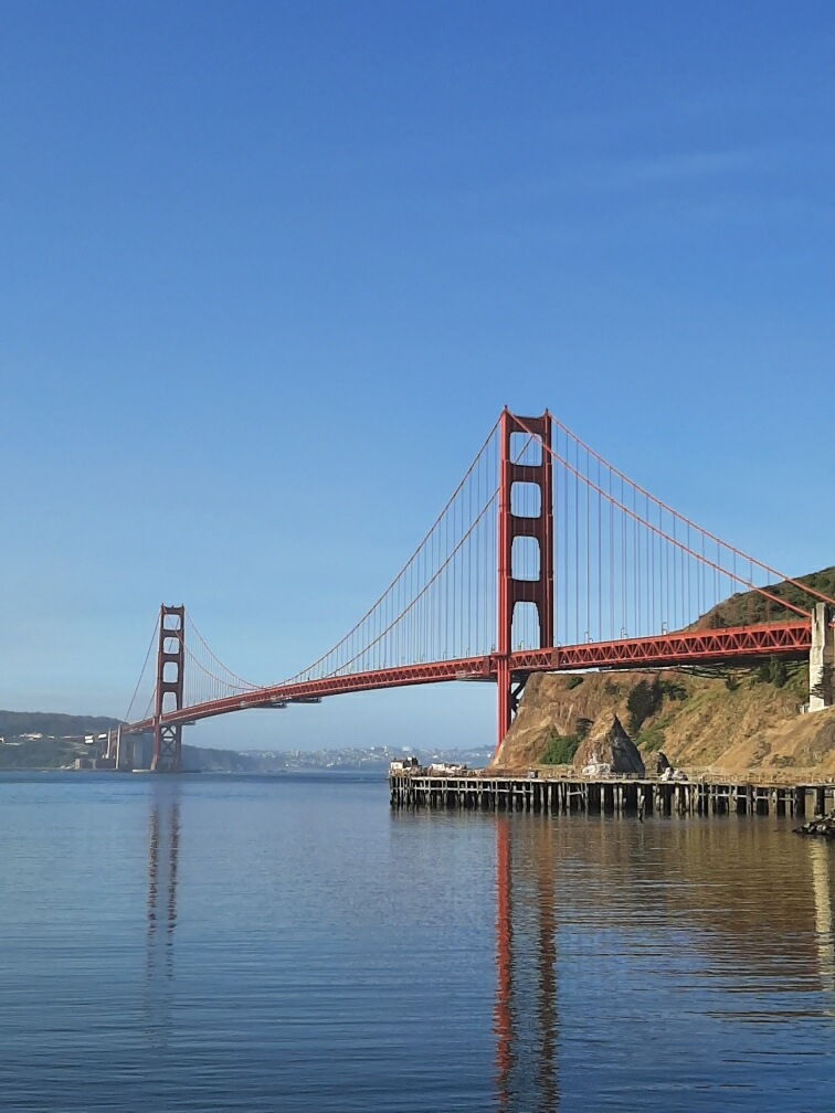From Beneath The Bridge At The Halfway Point On The Half Marathon