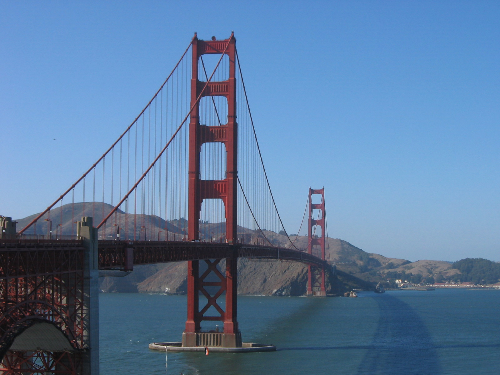 Looking From SF To Marin