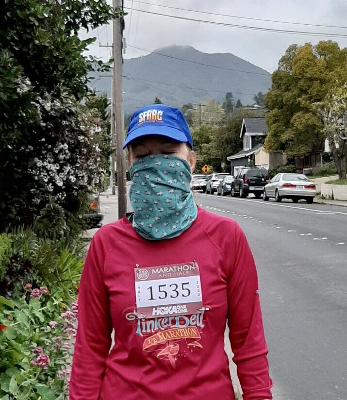 April 19th Virtrual Bend Half Marathon In Mill Valley